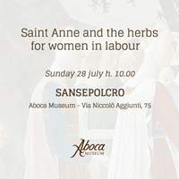 Saint Anne and the herbs for women in labour